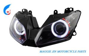 Motorcycle Parts Motorcycle HID Head Light Ninja 300-2013/Ex300 pictures & photos