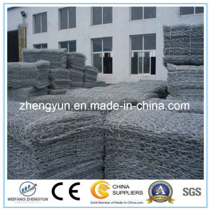 Made in China Galvanized Welded Gabion Box/Hexagonal Mesh Gabion pictures & photos