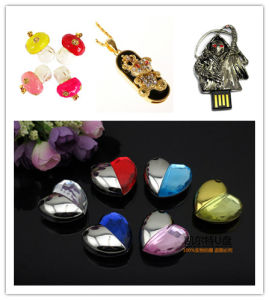 USB Flash Drive Wholesale Crystal Mushrooms Memory Stick Death USB Flash Memory USB Stick USB Flash Disk Pen Drive Flash Card pictures & photos