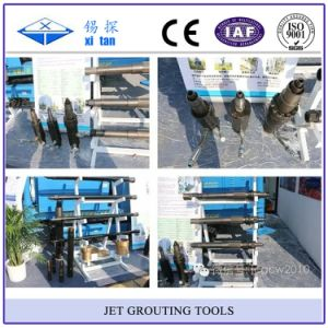 Jet Grouting Drilling Tools with Bit Rod Single Double Triple pictures & photos