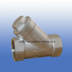 316/304 800wog Y Check Valve pictures & photos