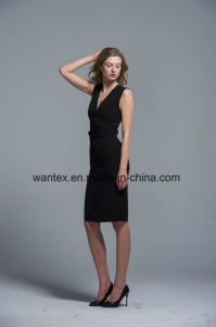 Ladies Dress 100% Polyester Spring Autumn Summer Fashion Slim pictures & photos
