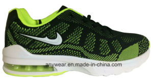 Men Running Shoes Knitting Upper Footwear (815-6688) pictures & photos