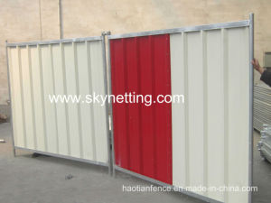 Solid and Strong Steel Event Hoarding Panels pictures & photos