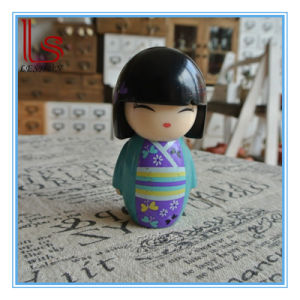 Customizd Wholesale Resin Handicraft Japanese Kimono Doll Traditional Gift Doll pictures & photos