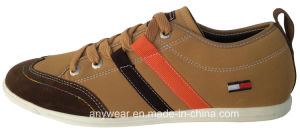 China Men Comfort Leather Casual Shoes (815-4698) pictures & photos