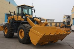 3.0 Cbm Bucket, Grass Fork, Log Clamp, Blade Dozer Loader (LQ956) Pilot Control AC Zf Gearbox pictures & photos