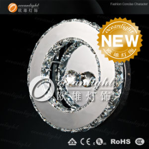Modern Canadian Round Crystal LED Wall Light, Wall Sconce Lamp Om88001-27r pictures & photos