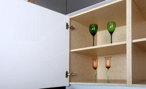 2017 Latest Design Lacquer & Veneer Kitchen Cabinet (zz-058) pictures & photos