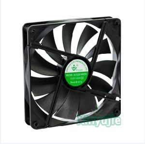 12V 24V 140mm 14025 DC Cooling Fan 140X140X25mm for Power Supply pictures & photos