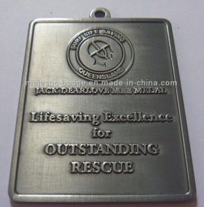 Two-Sided Lifesaving & Antique Silver Plating Medallion pictures & photos