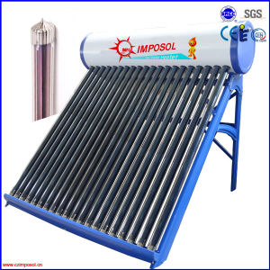 Evacuated Tube Solar Water Heater with CE pictures & photos