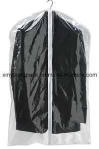 Personalized Clear Vinyl Travel Suit Garment Bag pictures & photos