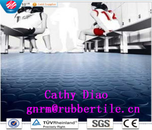 Colorful Rubber Flooring/Children Rubber Flooring/Office Rubber Flooring/Rubber Flooring for Subway Library Rubber Flooring pictures & photos