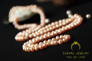 Fashion Female Beautiful Freshwater Pearl Necklace (XL0901)