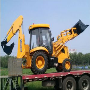 Mini Articulated Backhoe Loader Wzl25-10 and Backhoe Excavator pictures & photos