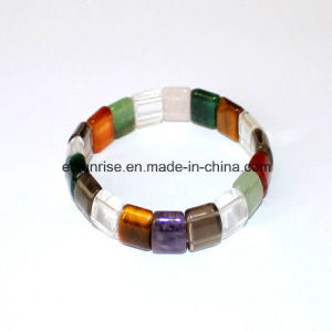 Fashion Crysal Agate Amethyst Gemstone Charming Bracelet pictures & photos
