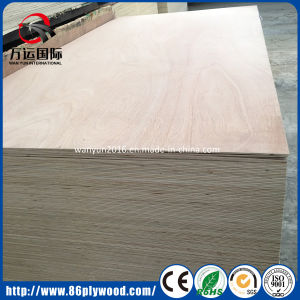 Ce Certificated 18mm Mahogany/Okoume Veneered Commercial Plywood pictures & photos