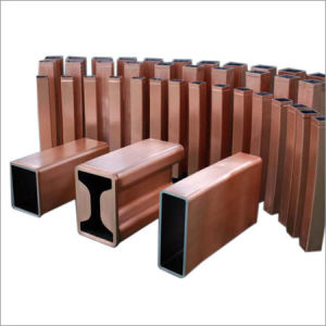 Rectangular Copper Tube for CCM, Rectangular Copper Mould Tube pictures & photos