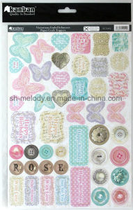 Exiqusite Foil-Printing Paper Craft Toppers pictures & photos