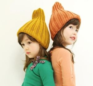 Wool Made Custom Logo Children Knitted Hat pictures & photos
