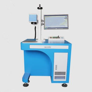 2017 New Product Electronic Appliance Optical Fiber Marking Machine pictures & photos