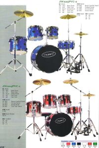 5PCS PVC Drum Sets, Drum Kits (JW225PVC-2, JW205PVC-1)