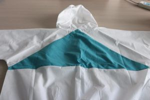Breathable SMS Disposable Coverall Used for Industrial Protection pictures & photos
