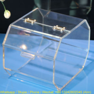Hot Sale Eco-Friendly Promotional Acrylic Candy Box pictures & photos