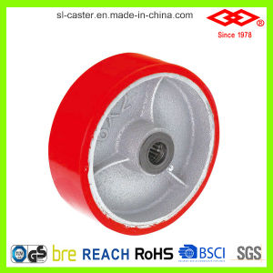 200mm PU Heavy Duty Caster Wheel (P701-46D200X50S) pictures & photos