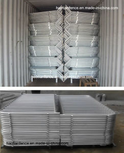Galvanized Safety Crowd Control / Event Barrier pictures & photos