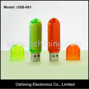 Promotional OEM Plastic USB Flash Drive 2 / 4 / 8GB (USB-001) pictures & photos