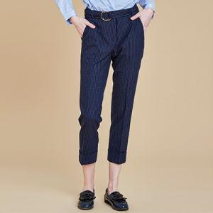 Cotton Strip Pants for Women Long Pant Trousers pictures & photos