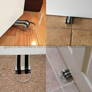 Ss Door Stopper Wedge with Rubber Treads and Metal Handle pictures & photos
