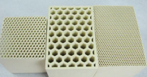 Professional Honeycomb Ceramic Heater for Heater Gas Accumulator 150*150*100mm pictures & photos