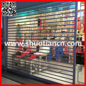 Full View Clear Look Transparent Roll Shutter (ST-002) pictures & photos