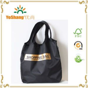 Reuseable Folding Polyester Nylon Tote Bag pictures & photos