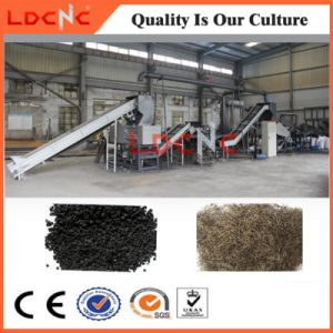 Rubber Powder Production Line Waste Tire Shredder Recycling Plant pictures & photos