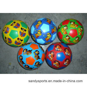 Eco-Friendly Factory Cheap Price Low Price Colorful Toy Rubber Football Soccerball pictures & photos