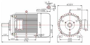 1500rpm Permanent Magnet Generator 40kw 50Hz pictures & photos