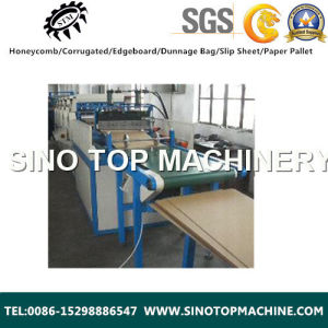 Economic Brwon Kraft Slip Sheet Tray and Pallet Machine pictures & photos