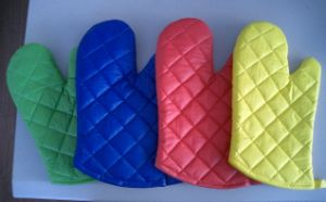 Microwave Cotton Oven Mitt (SSG0401) pictures & photos