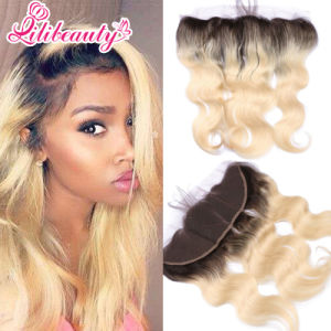 13X4 Peruvian Body Wave Frontal with Baby Hair pictures & photos
