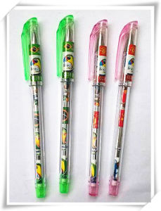 New Design Plastic Material Color Box Gel Ink Pen