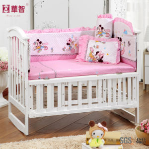 Pink Baby Bedding Sets with Mickey Mouse pictures & photos