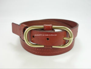 Fashionable Women Belt of Full Grain Leather pictures & photos