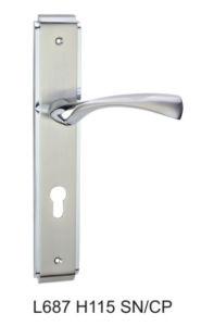Luxury Beautiful Larger Size 85mm Zinc Alloy Lever Door Lock pictures & photos