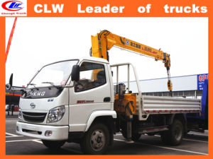 3tons Mini Mobile All Terrain XCMG Crane Truck in Isuzu pictures & photos