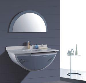 100cm PVC Bathroom Cabinet Furniture (B-253) pictures & photos