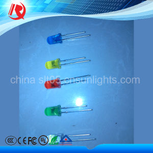 5mm Beauty Red Blue High Brightness Water Clear LED pictures & photos